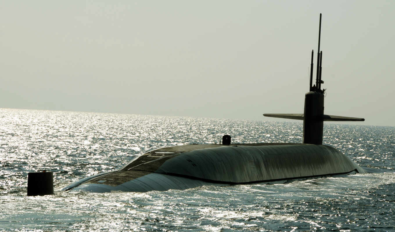 uss, ssbn, картинка, maryland, атомная, подводная, лодка,