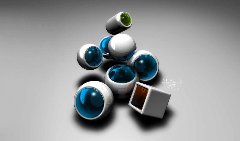 abstrakt, artistic, formen,