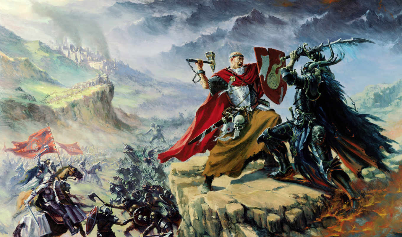 warhammer, online, добра, битва, зла, зло,