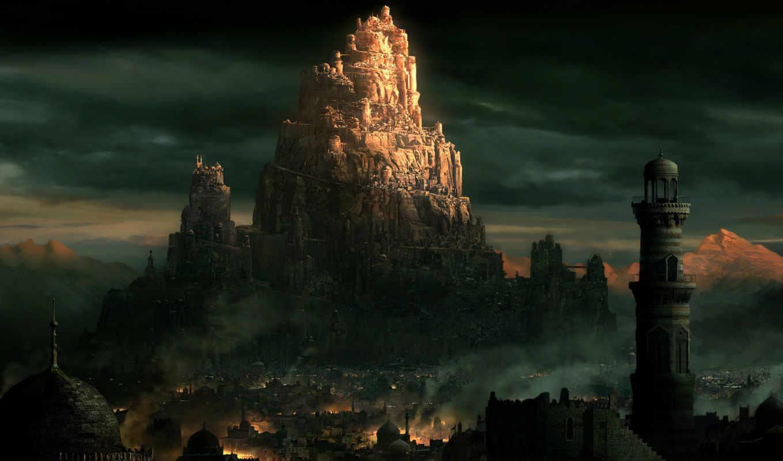 persia, prince, город, персии, восток, башни, pack, thrones,