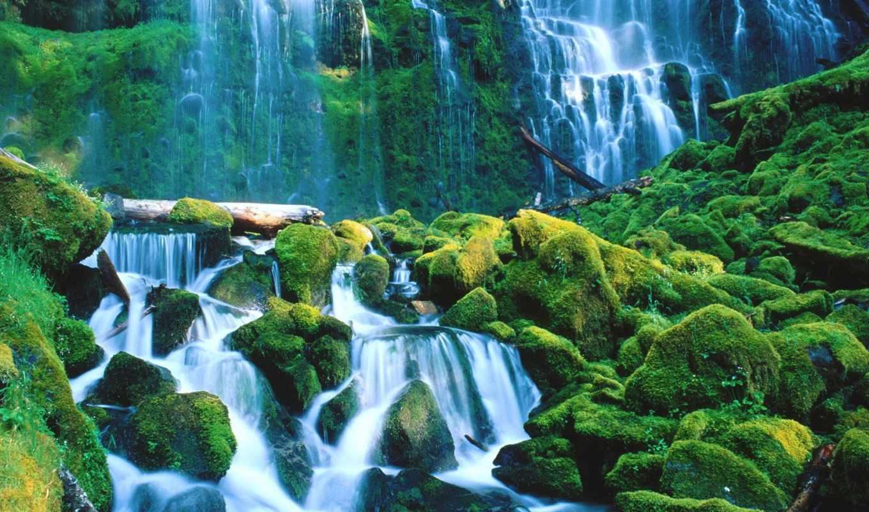 самые, мира, красивые, водопады, фотографий,