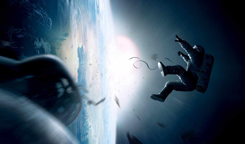 гравитация, падает, человек,