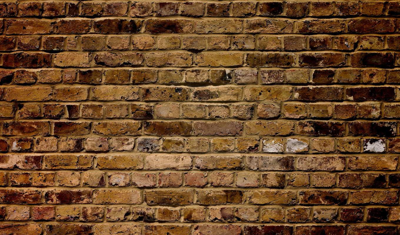 brick, стена, текстура, взгляд,