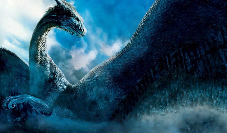 dragon, blue, вышивки, предпросмотр, fantasy, фэнтези, сапфира,