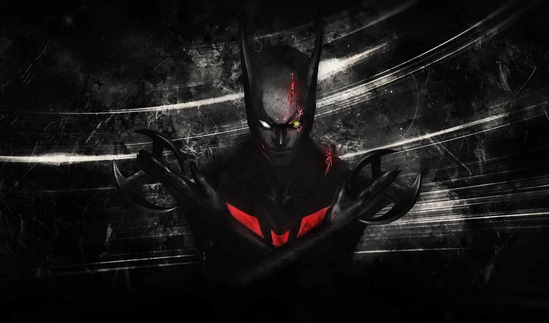 будущего, бэтмен, batman, beyond, комиксы, фантастика,