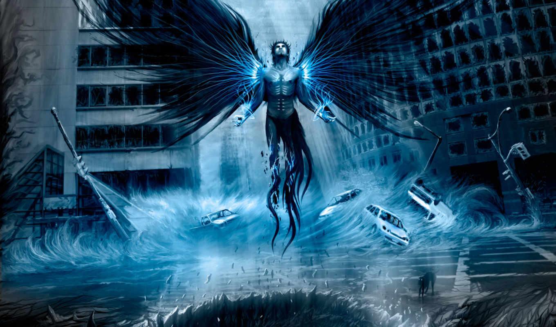 angel, fantasy, angels, ангелы, art, fallen,
