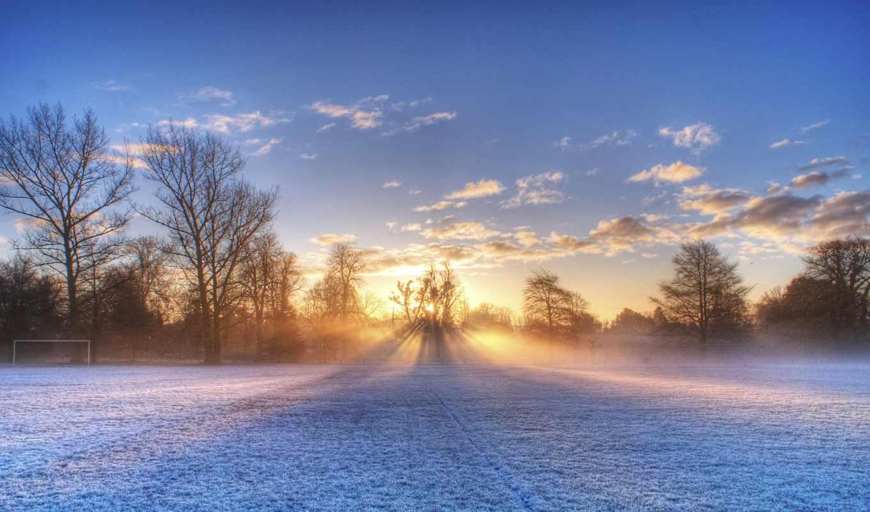 winter, scenery, nieve, fondo, cayendo, copos, more, christ,