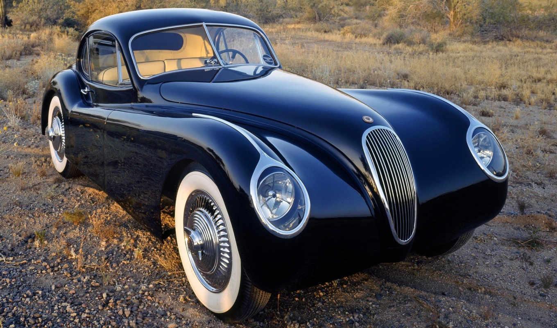 coupe, 1953, фары, fixed head, jaguar, xk120m, классика,