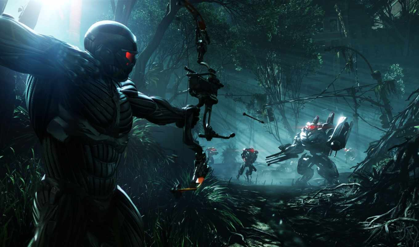 crysis, crytek, trailer, истребитель, улица, video,