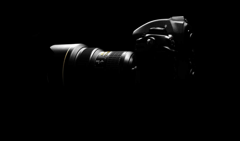 camera, nikon, lens, dark