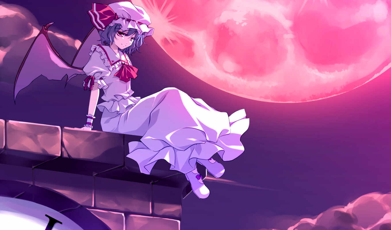 touhou, remilia, anime, scarlet, collection, tags, similar, девушки, hair,