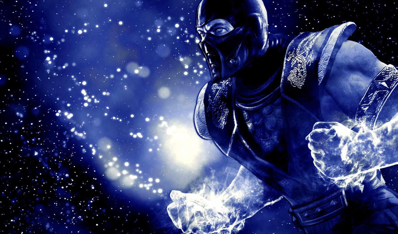 blue, удар, холод, мороз, mortal,
