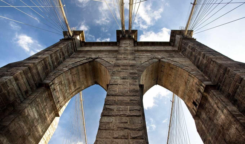 мост, бруклин