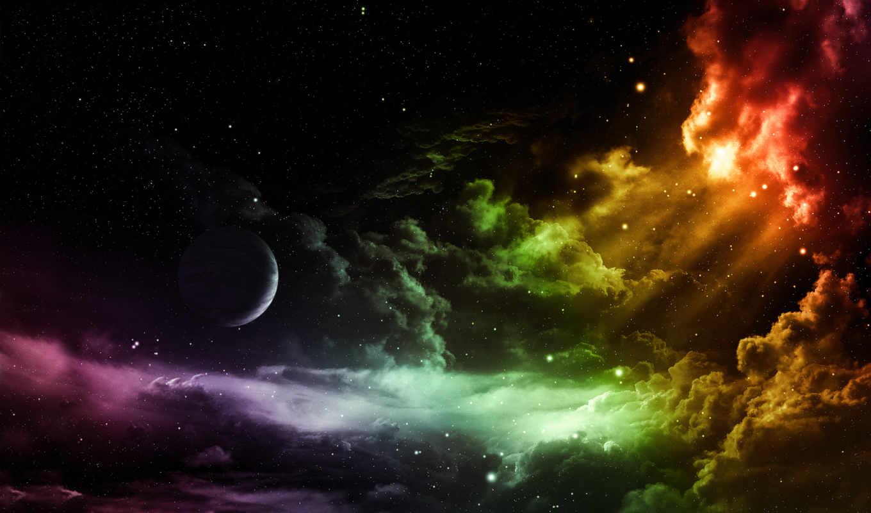 space, планета, hd, wallpaper, космос, wallpapers, облаках, widescreen, it, starry, and, облака, planets, to, night, desktop,