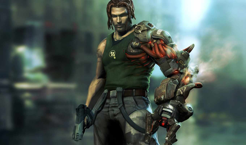 bionic, commando, cyborg, rearmed, робот, games, бионикл, download, полу, desktop,