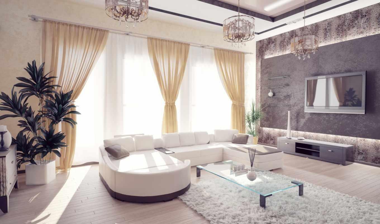 диван, интерьер, комната, окна, свет, design, мебель, living,