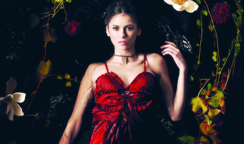 платье, красном, женщина, nina, добрев, сериала,