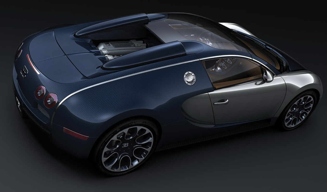 bugatti, veyron, sang, bleu, grand, sport, wallpaper,