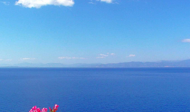 ,море, небо,горы,