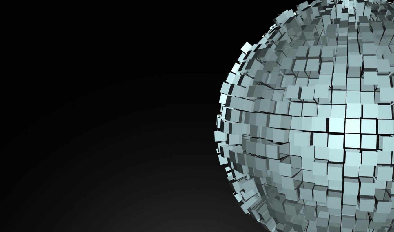 cube, sphere,