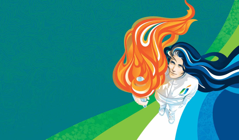 ванкувер, олимпиада, факел, winter, flame,