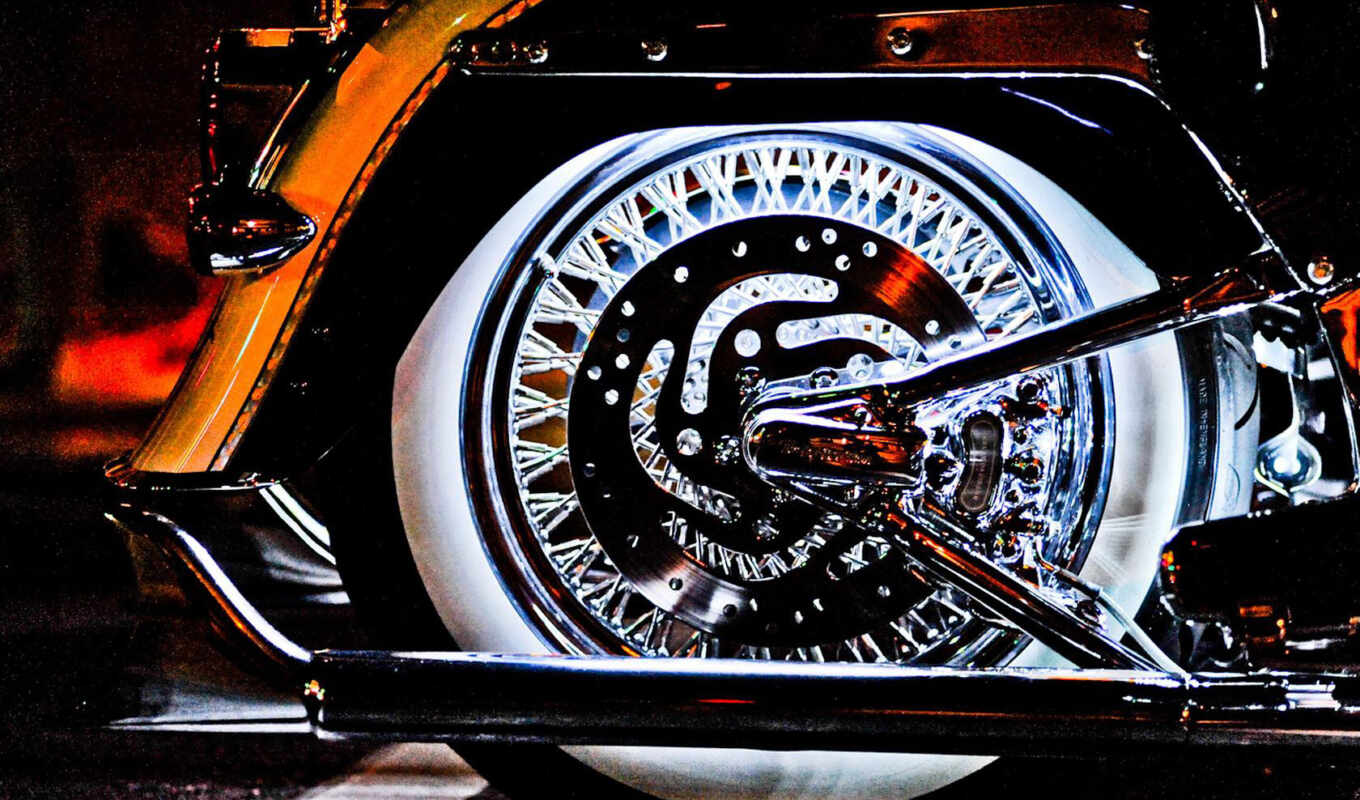 мотоцикл, illuminated, wheels, photography, страница, more, free, like,