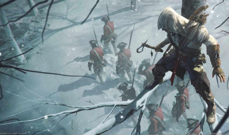 коннор, creed, кенуэй, коннора, assassins, assassin, оружие,