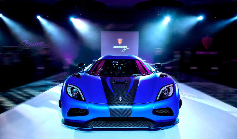 koenigsegg, agera, blue, суперкар, суперкар, cars,