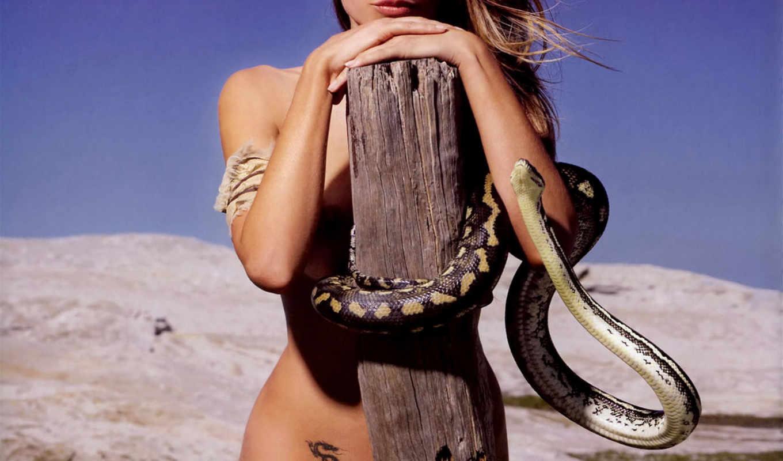 girls, snake, мох, tara, со, девушка, картинкой, subject, страница, красивый,