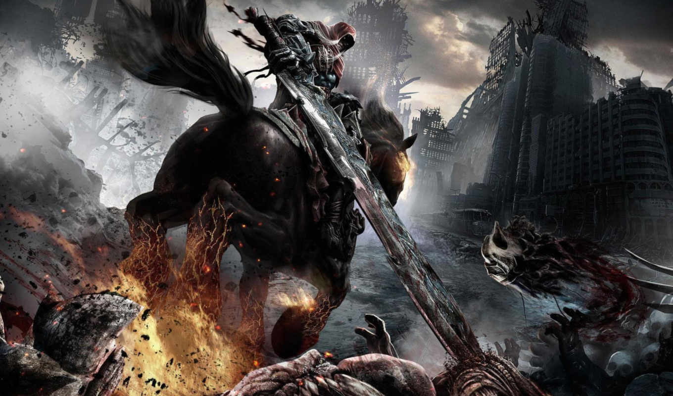 darksiders, war, wrath, игры, free,