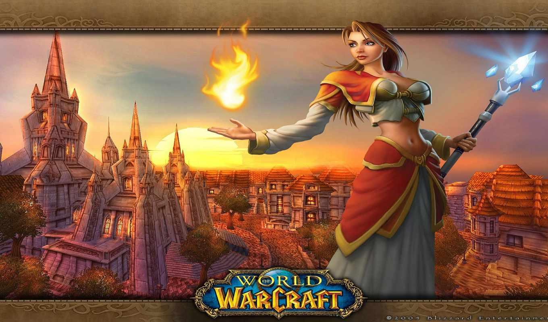 warcraft, world,