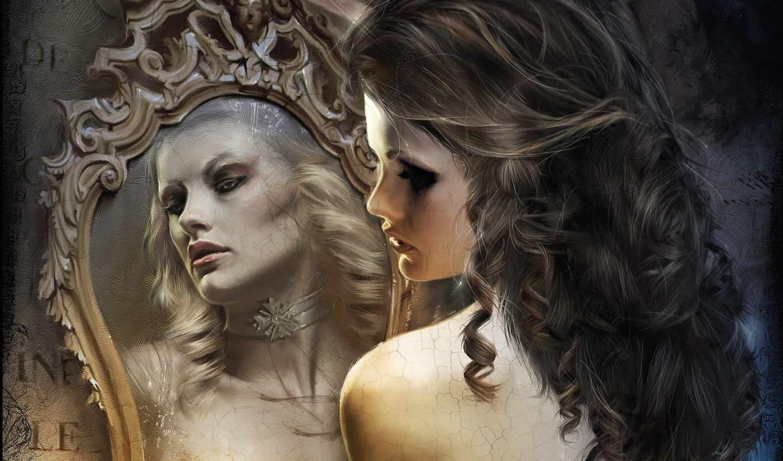 зеркало, девушка, зеркала, девушки, являются, зеркале, было, давних, убеждено, humanity, магическими, их, использовали, предметами, том, времён, нечто, ахерн,