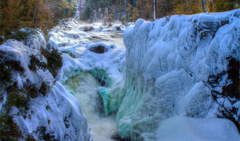 Зимний водопад  № 2946950  скачать