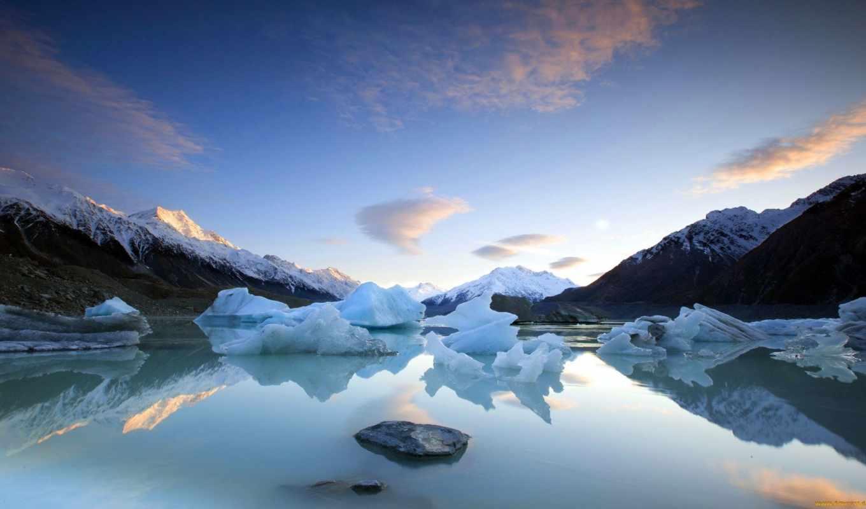 landscape, winter, windows, desktop, free, озеро,