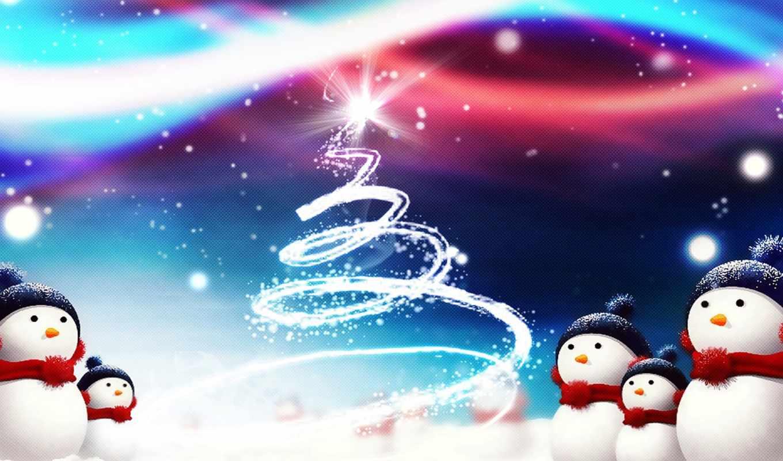 christmas, снеговики, iphone, рождества, магия, happy, нравится, widescreen, елка, снег, الايفون, cute, eve, год, pe, картинку,