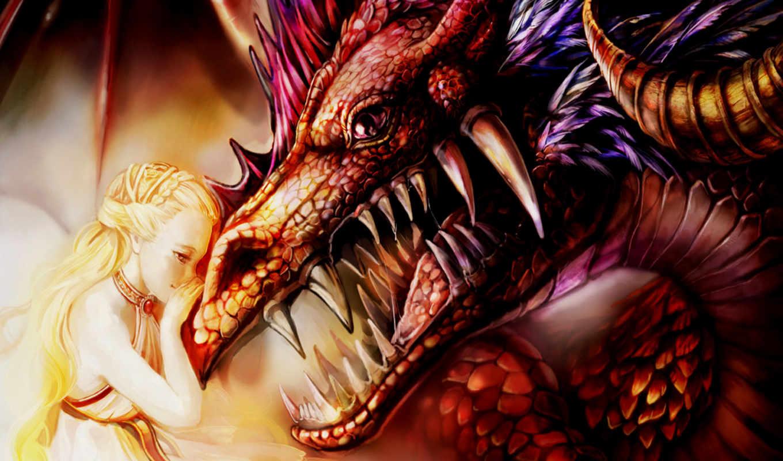 дракон, принцесса, dragons, deviantart,