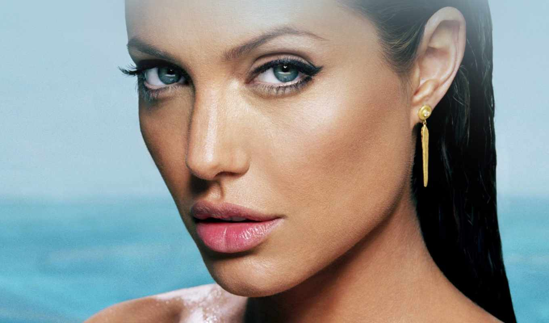 jolie, макияж, анджелины, глаз, her, волосы, волос, restoration,