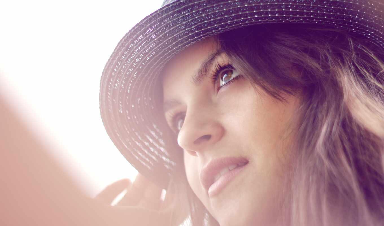 шляпа, девушка, wear