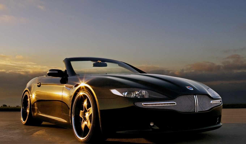 авто, автомобили, закате, автомобилей, красавица,