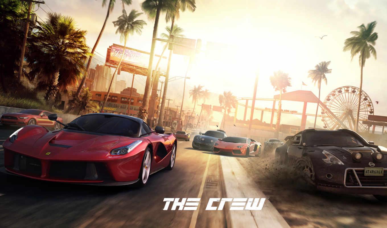 crew, игры, video,