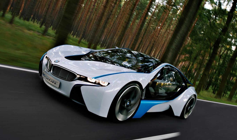 vision, concept, del, car,