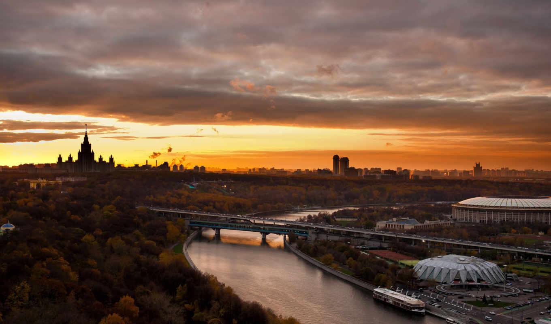 москва, кремль, россия, взгляд, города,