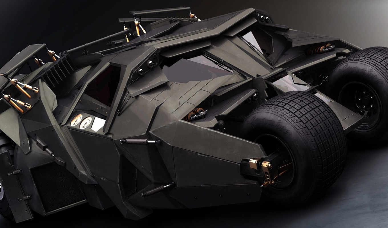batman, бэтмобиль, batmobile, vehicles, movies, кнопкой, cars, black, tumbler, ipad, dark, knight, броня, this, шины, смотрите, левой,
