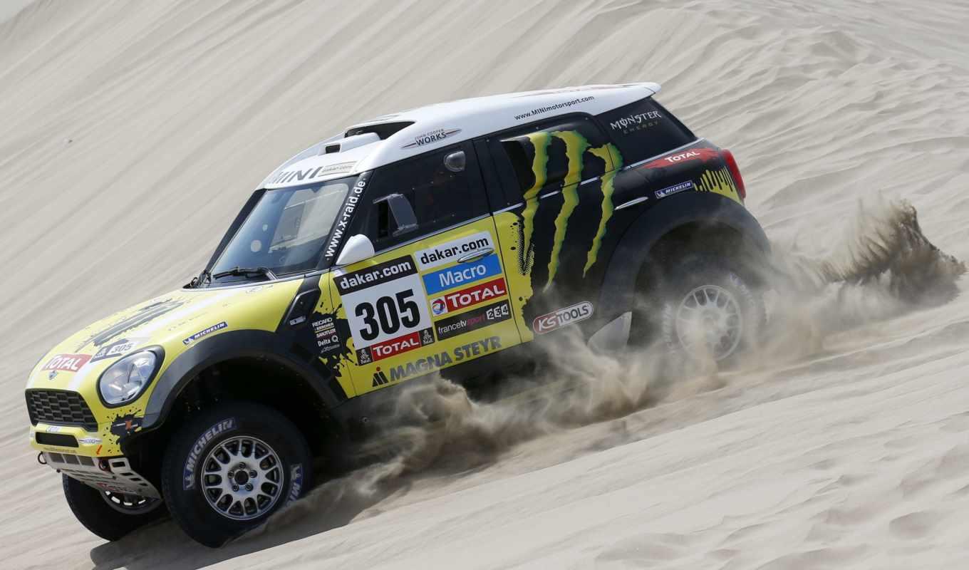 мини, cooper, песок, rally, спорт, огни, заставки, daily,