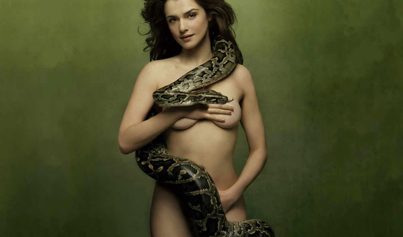 rachel, weisz, with, snake, вайс, girls, кб, sexy, les,
