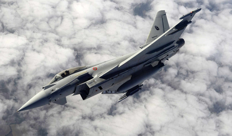 арт, самолёт, дек, eurofighter, многоцелевой,