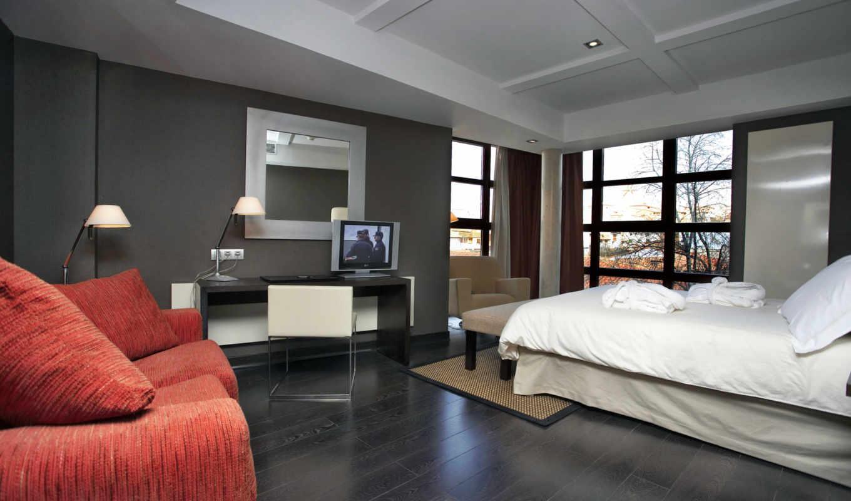 спальни, design, обоями, отделка, спален, тонах,