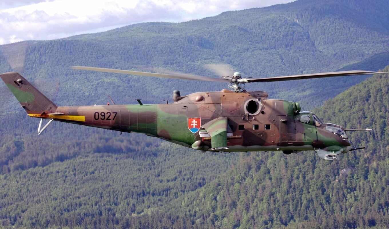 ми, транспортно, combat, вертолет, soviet,