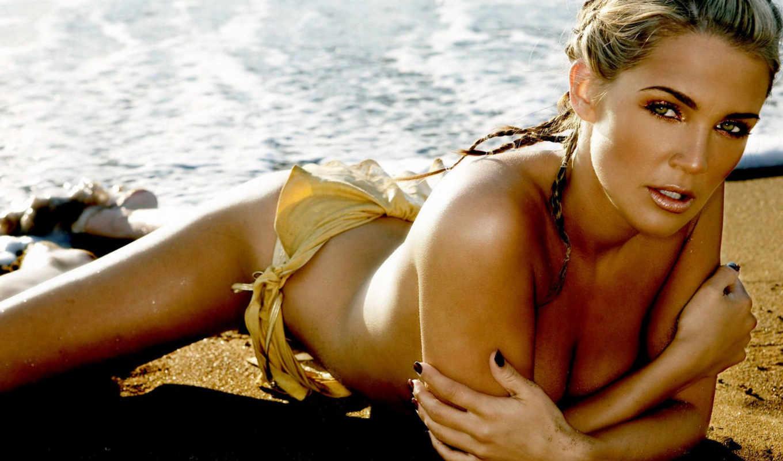 danielle, beach, lloyd, women, женщин, bikini, photo,