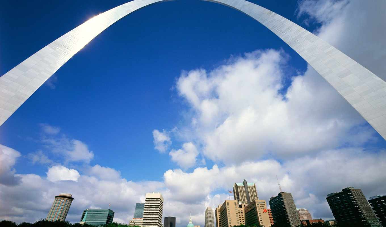 louis, города, арка, america, страны, gateway, missouri, usa, луисе,